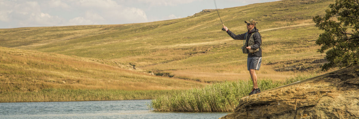 Fly Fishing At Wild Horses