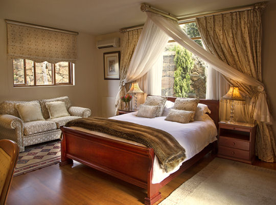 The Guinea Fowl Suite at Wild Horses Luxury Drakensberg Accommodation