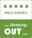 Wildhorses, 5 Star rating on Sleeping-Out.co.za